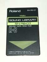 Click for large photo of Roland R8 Mallet Card SN-R8-07