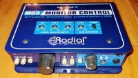 Click for large photo of Radial MC3 Monitor Control