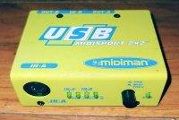 Click for large photo of Midiman Midisport 2X2