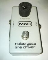 Click for large photo of MXR Noise Gate Line Driver