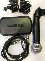 Click for large photo of Shure PG4 Wireless W/PG58 mic