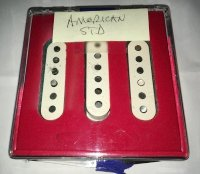 Click for large photo of Fender American Standard Pickups
