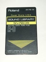 Click for large photo of Roland R8 Power drum Card SN-R8-09