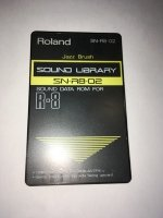 Click for large photo of Roland SN-R8-02 Jazz Brush
