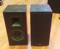 Click for large photo of Klipsch SB-1 Home Theater Bookshelf Speakers