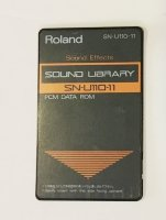 Click for large photo of Roland SN-U110-11 Sound Effects