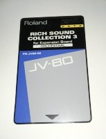 Click for large photo of Roland PN-JV80-06 Sound Collection 3