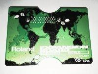 Click for large photo of Roland JV Board SR-JV80-05 World