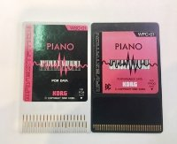 Click for large photo of Korg Wavestation Piano PCM and Performance Rom Cards