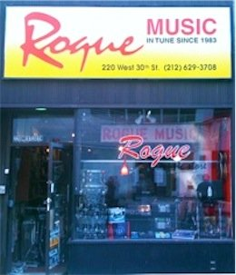 Rogue Music Store Front